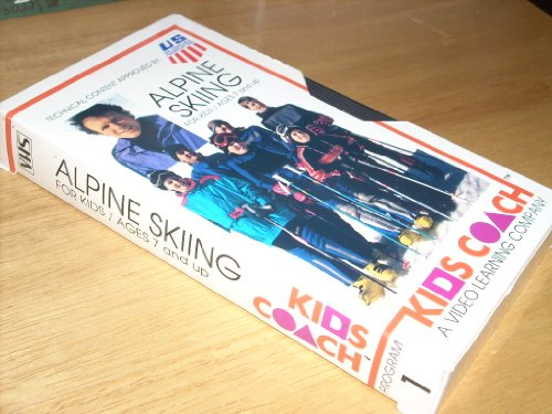 Kids Coach: Alpine Skiing For Kids Ages 7 and Up (VHS) ()
