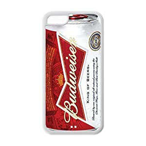 Cool Beer Series Vintage Budweiser Bud Beer Can iPhone 5c Silicone Case