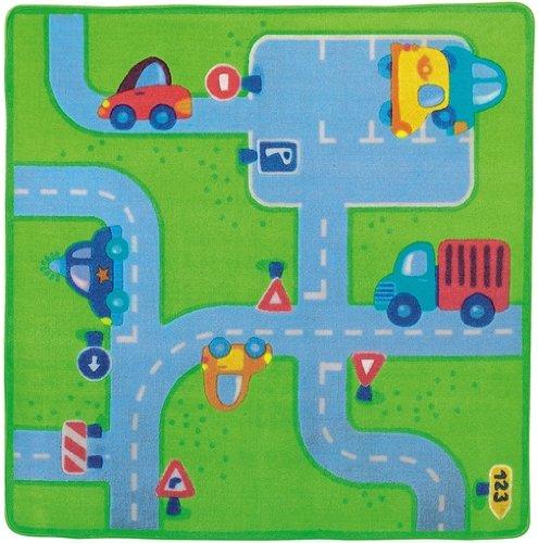 Haba 8147 - Alfombra infantil, diseño de carreteras