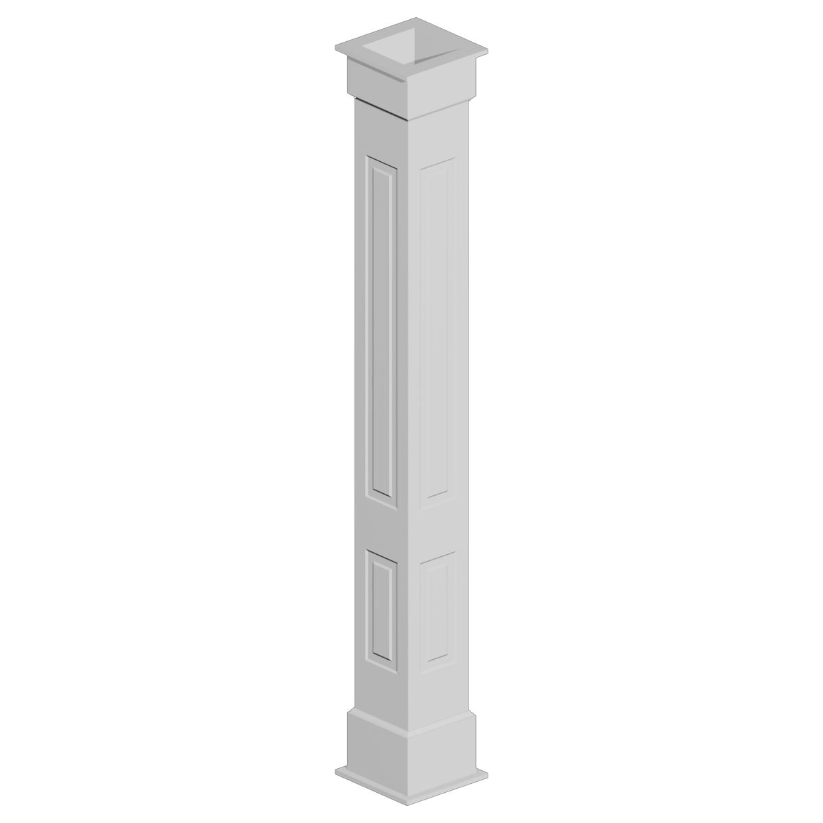 COLUMN WRAP KIT 12X108 RP 1BX, NON TAPERED RAISED PANEL
