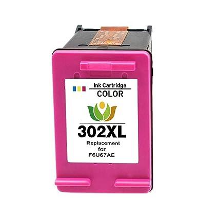 arink Rigenerata Cartuchos de Tinta Reemplazo Para HP 302 X L (1 ...