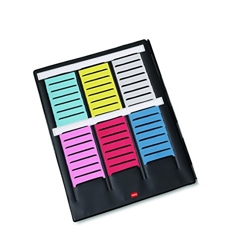 Val-Rex Nobo Mini-Player Card Planner With Interior Flap With 3 Strips Of 16 Size 2 Panels