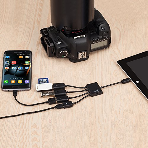 Buy micro usb otg charging hub for smartphones and tablets