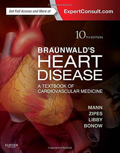 Pdf Medical Books Braunwald's Heart Disease: A Textbook of Cardiovascular Medicine, 2-Volume Set