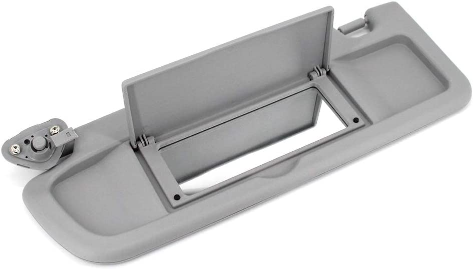 Atlas Gray, 2006-2008 ustar Sun Visor Left Driver Side Fit for Honda Civic 2006 2007 2008 Without Vanity Light Replacement Part #83280-SNA-A01ZA