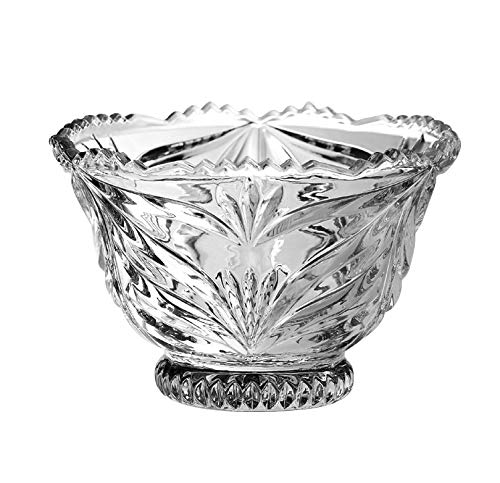 Crystal Footed Bowl - 6