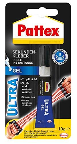 Pattex Sekundenkleber Ultra Gel, 10 g, PSG4C