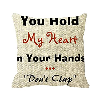 Amazon com: Smity 106 Pillowcase Funny Love Quotes for Your
