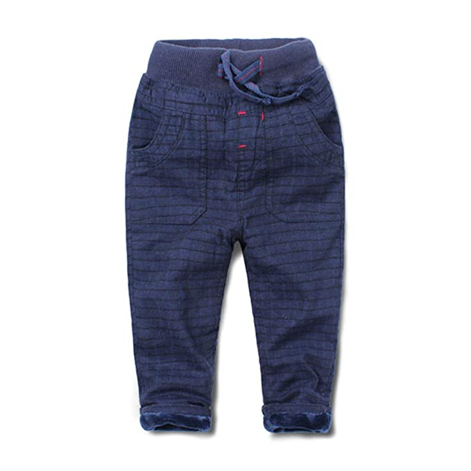 965a3b2685d Mud Kingdom Boys Winter Pants Warm Fleece Lining: Amazon.ca ...
