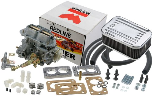 (Weber Redline W0133-1806356-WEB Carburetor Kit 38 DGES Outlaw - Electric Choke)