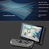 Nintendo Switch Screen Protector,Decade 0.2mm Tempered Glass Screen Protector for Nintendo Switch 2017[2 pack]
