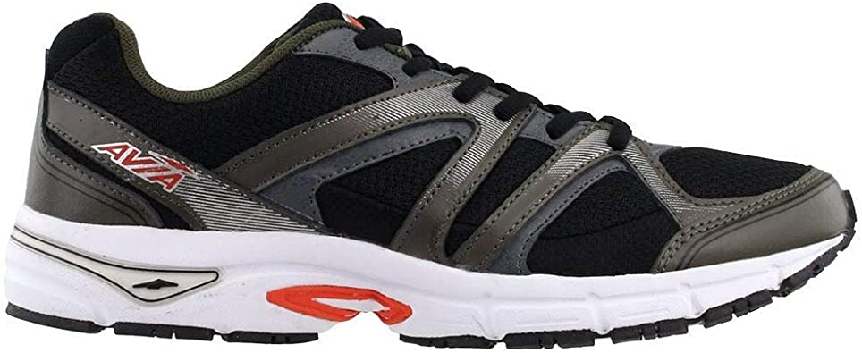 Avia Avi-Execute-ii Zapatillas de correr para hombre, Negro (Negro azabache/cocodrilo/naranja/plomizo), 40.5 EU: Amazon.es: Zapatos y complementos