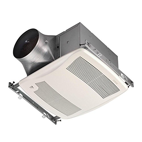 Bathroom Fan, 110 CFM Multi Speed Ultra Green Series with Humidity Sensing for 6