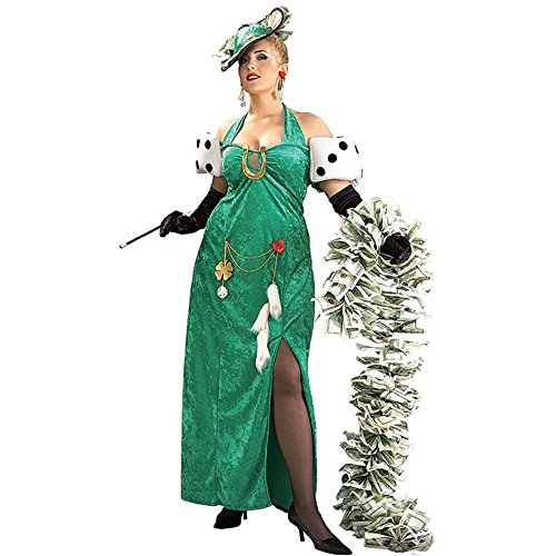 Lady Luck Plus Size Costume (Lady Luck Costume Plus Size)