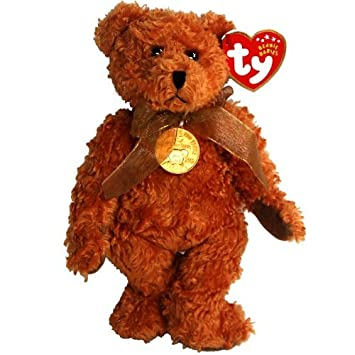 ac788c85fc8 Image Unavailable. Image not available for. Color  Ty Beanie Babies - 100  Year Teddy Bear