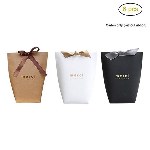 EisEyen Caja de regalo Candy, caja de cartón, pequeña bolsa ...