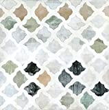 Art Effects Turkish Tile II Wrapped Canvas, Green/Gray/Tan