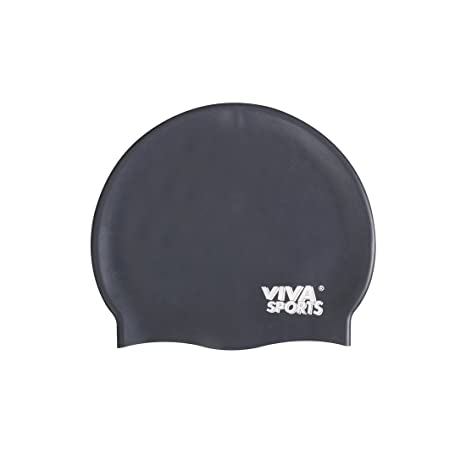 035ab7903e Buy Viva Sports Swimming Cap (Black) Online at Low Prices in India ...