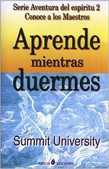 Book Aprende Mientras Duermes/learn While You Sleep (Spanish Edition)