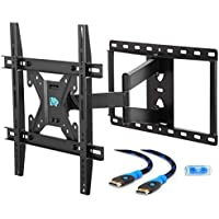 Mounting Dream MD2295-M Full Motion TV Wall Mount Bracket with Articulating Arm, 78 LBS Loading Capacity, Max 400 x 400mm VESA, Fits Most of 26-55 Inches LED, LCD and Plasma TV