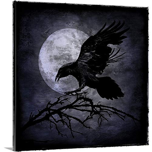 Gallery-Wrapped Canvas Entitled Crow by Martin Wagner 20