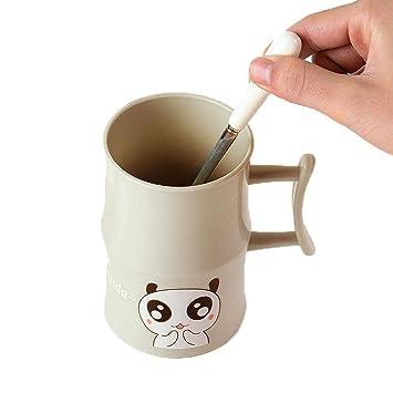 Amazon com: Kindes Animal Print Brushing Cup Water Coffee
