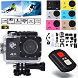 UGI 4K WiFi Action Camera Ultra HD 1080P Sports Cam with EIS 30m