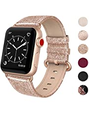 Apple Watch Band 38mm Leather,Swees iWatch Genuine Leather Bands