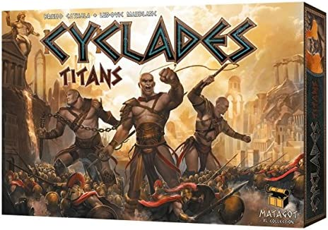 Cyclades Titans Expansion Matagot BRAND NEW ABUGames