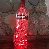 Smirnoff Beverage Bottle Lamp