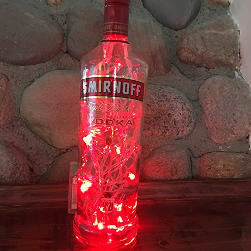 Smirnoff Beverage Bottle Lamp
