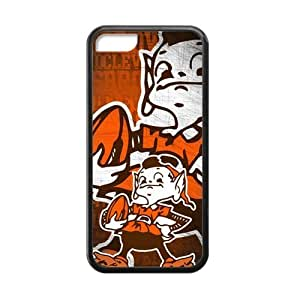 MMZ DIY PHONE CASEHoomin Funny Cleveland Browns Design iphone 6 4.7 inch Cell Phone Cases Cover Popular Gifts(Laster Technology)