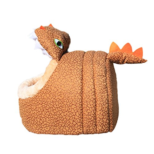 Comfortable Pet Waterloo Pet Bed for dog and cat used to store pet on travel time or at home, the shape of Dinosaur in M - Stores Waterloo