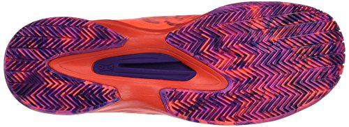 Wilson Rush Pro 2.0 Clay Court W, Zapatillas de Tenis Mujer Naranja (Fiery Coral / Fiery Red / Rose Violet)