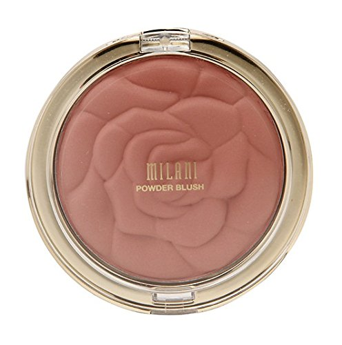 Milani Rose Powder Blush, Romantic Rose [01] 0.60 oz (Pack of 2)