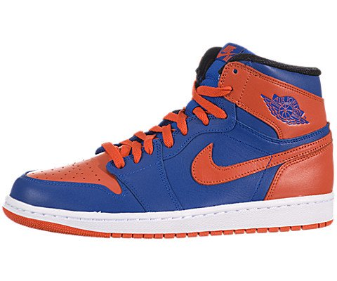 NIKE Air Jordan 1 Retro High Knicks (555088-407) (10.5 D(M) US)