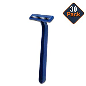 GILLETTE GOOD NEWS 30 DISPOSABLE RAZORS WITH 2 BLADES / 30 RASTRILLOS AFEITAR