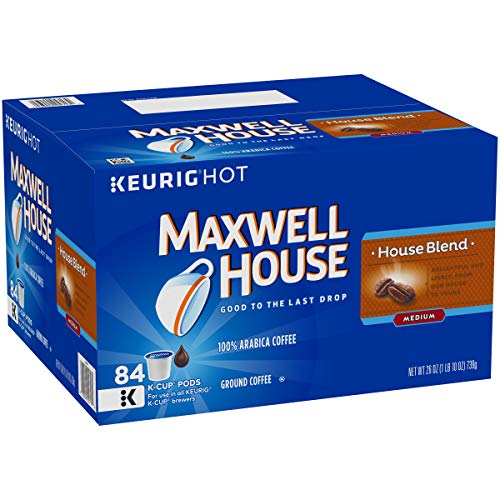 Maxwell House House Blend Keurig K Cup Coffee Pods, 84 ct Box