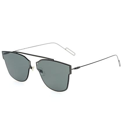 Wkaijc Spindeldürren Beine Die Frau Zum Mann Mode Persönlichkeit Bequem Quadrat Hell Sonnenbrillen Sonnenbrillen ,D
