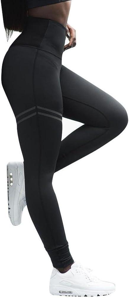 Paolian Femmes Chic Leggings Camouflage Skinny Sport Yoga Pantalons Longs