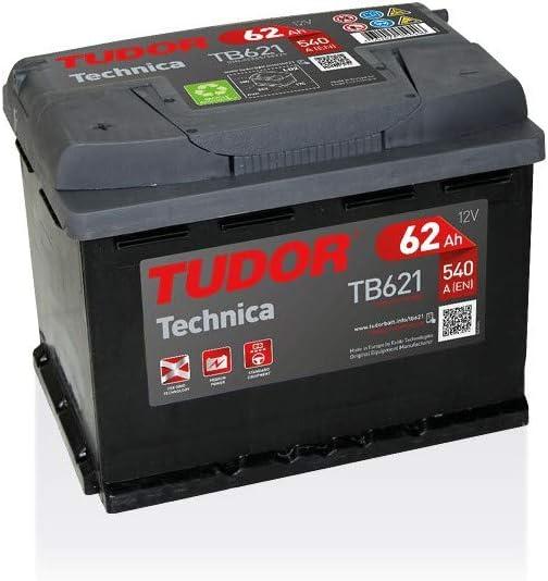 Batterie TECHNICA TUDOR TB621 12V 62Ah 540A TUDOR