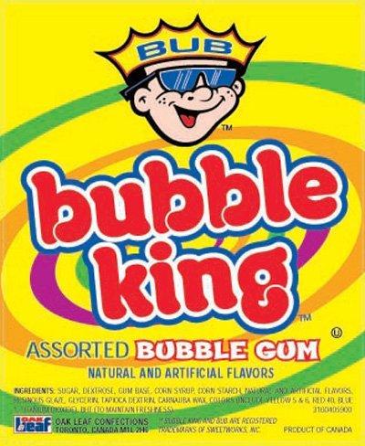 Bubble Gum King 1 Pound