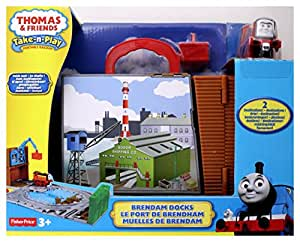 Thomas & Friends - Miniconjuntos portátiles Percy & the mail (Mattel R9621)