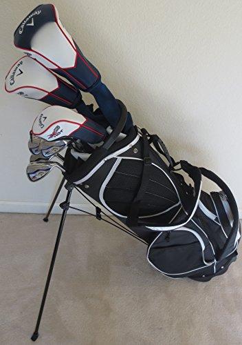 Callaway完了メンズゴルフセットクラブドライバ フェアウェイウッド Hybrids アイアン パター バッグRegular Flexの商品画像