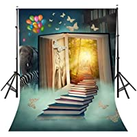 Lyly County Fairy Tale Background for Photo 5x7ft Children Theme Book World Elephant zebra Photography Backdrop Studio Props Wall PB868