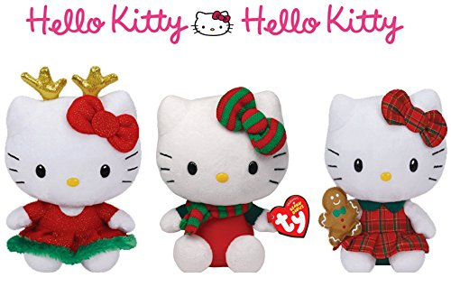 Ty Hello Kitty variety pack Beanie babies collection (3 -