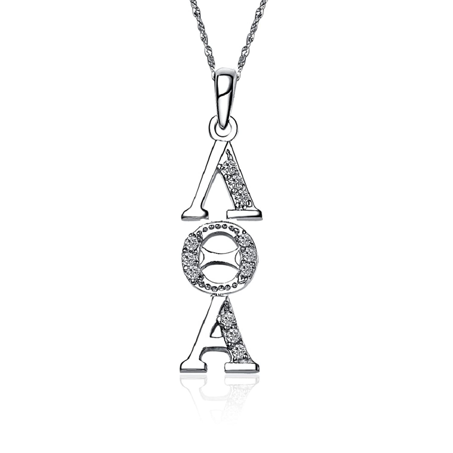 85off Lambda Theta Alpha Necklace With A 18 Silver Chain Lta P001