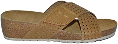 Hush Puppies Perfect Soothie Slide for Women, Brown - HW05917-201