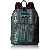 JanSport Superbreak Back Pack Seafoam Green Camo Stripe One Size