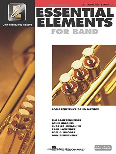 Trumpet Book B-flat Music - Essential Elements 2000 Trumpet, Book 2 B flat